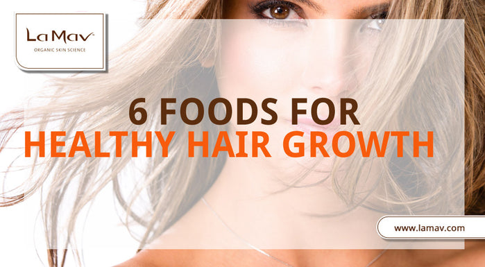 6 Foods for Healthy Hair Growth