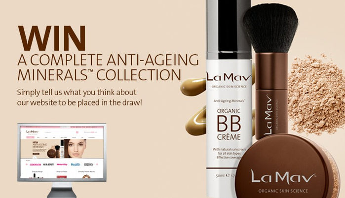 Announcing the new Anti-Ageing™ Minerals Collection (and a giveaway)!