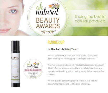 Oh Natural Beauty Awards