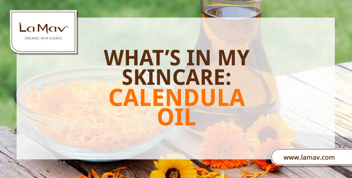 What's In My Skin Care: Calendula Oil