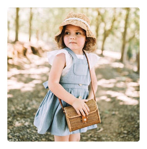 August Pinafore Dress  | Sizes 0 - 3