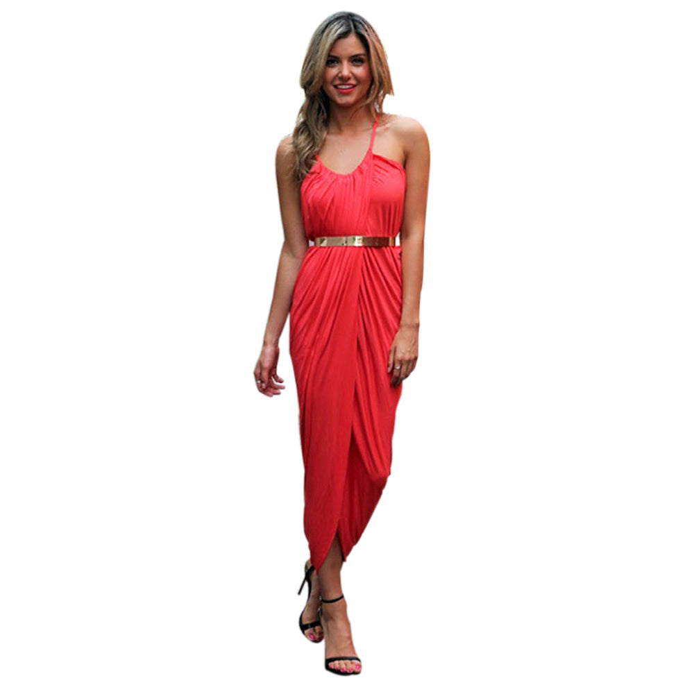 Jaune Supermodel Chic Dress - Red