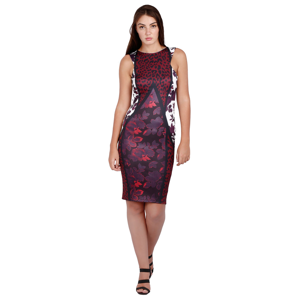Jaune Haute Couture Top Pick - Vivid Magenta Dress