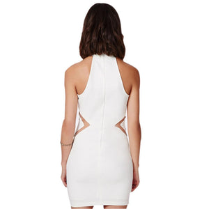 The Showstopper Dress - White