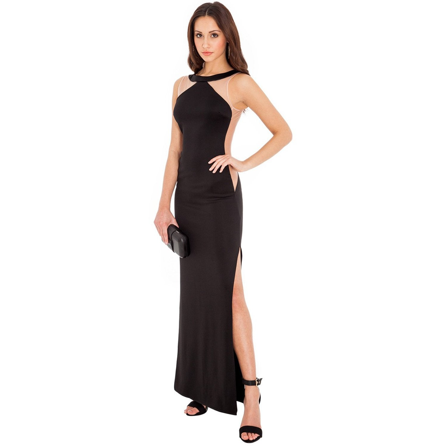 Jaune Dare Back Jennifer Lopez Gown