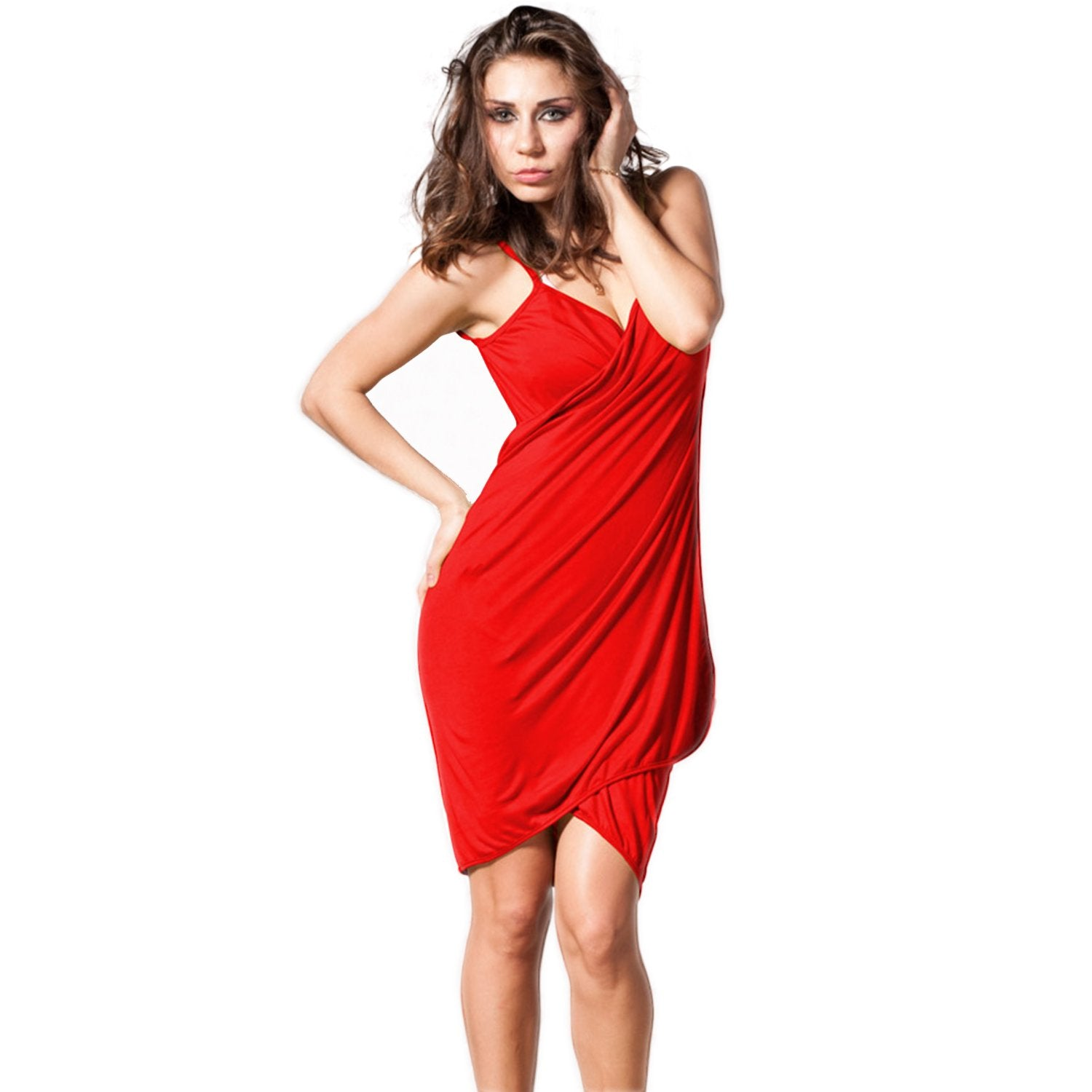 Jaune Red Beach Cover Dress