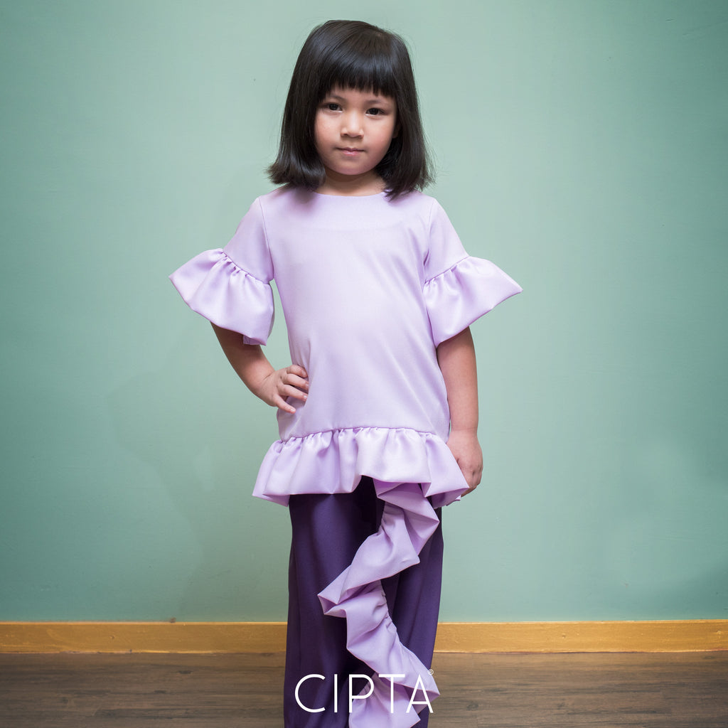 Aurora Kurung Purple