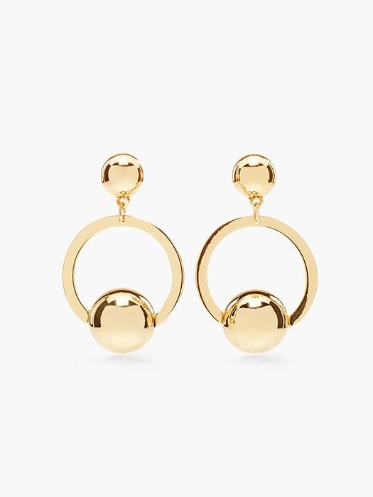 Dazzling Mini Ball Hoop Earrings – WhatsMode