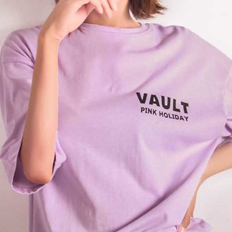 Street Style Pink Holiday T-shirt