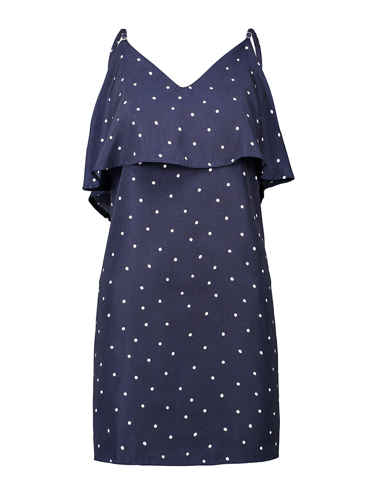 Sweet Polka Dot Slip Dress