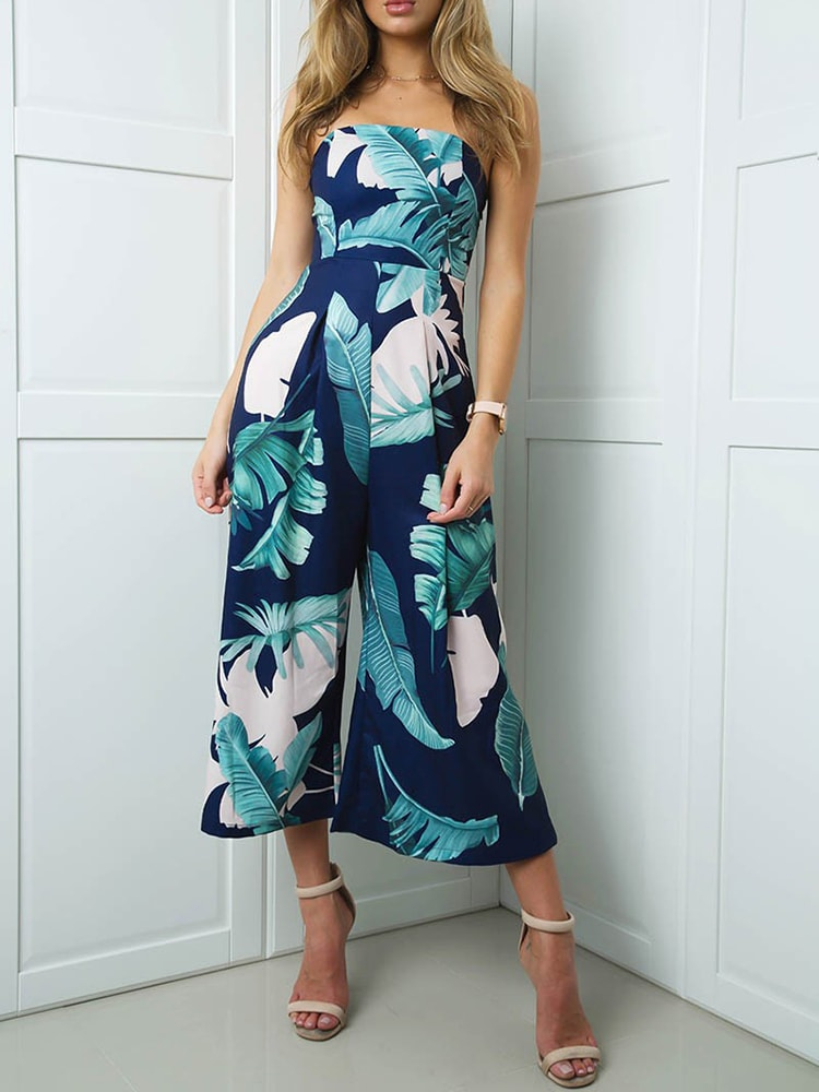 Escape Tropical Floral Jumpsuit