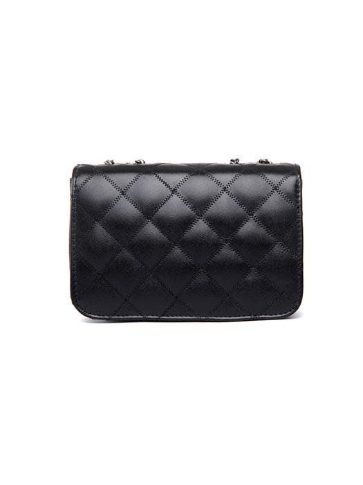 Vintage Metallic Quilted Chain Bag – WhatsMode : black quilted chain bag - Adamdwight.com