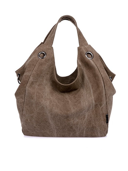 All-match Pure Color Bag