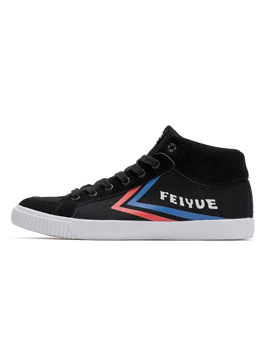 Contrast Color Plimsolls With Logo