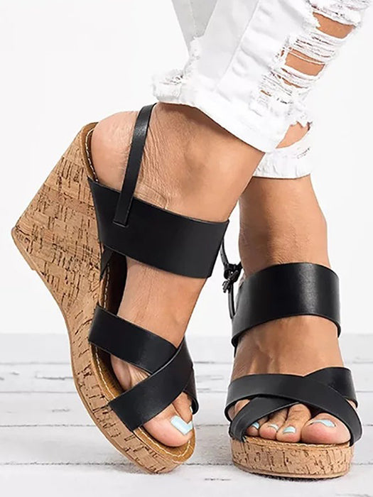 f769012917f Daily Platform Wedge Women s Sandals – WhatsMode