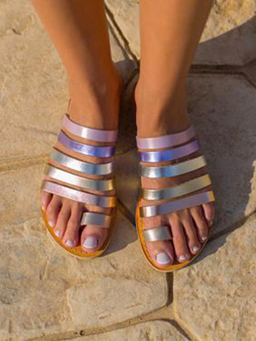 Comfy Leaking Toe Sandal