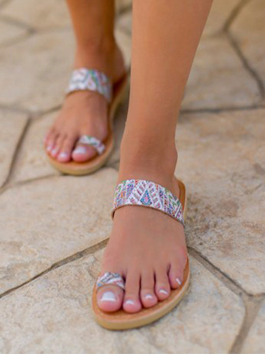 454ff7933 Greek Style Toe Ring Sandals – WhatsMode