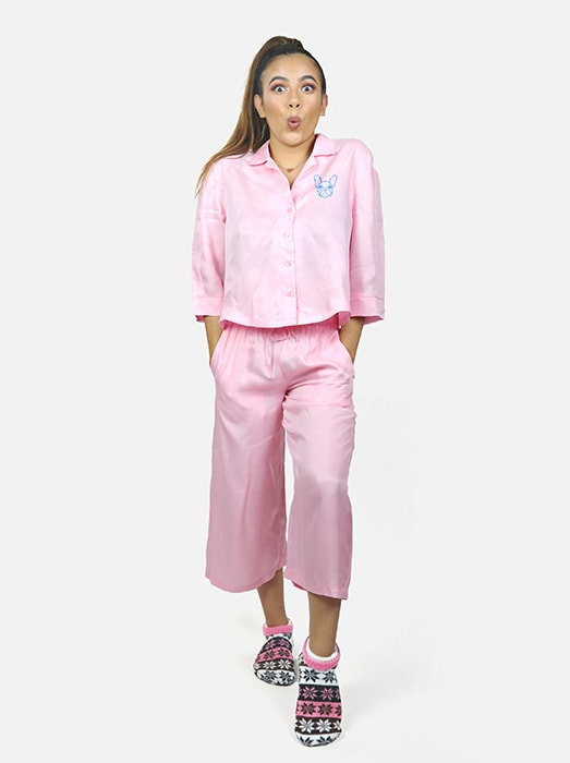 Satine Cotton Pant Set