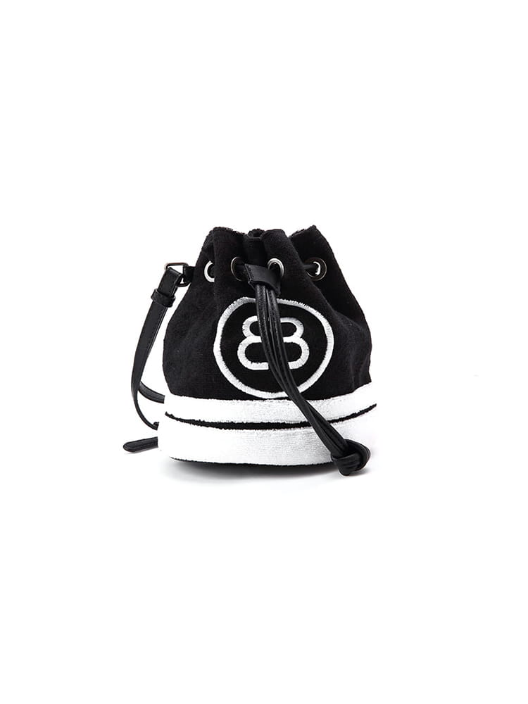 BLANCO Small Canvas Print Bucket Bag