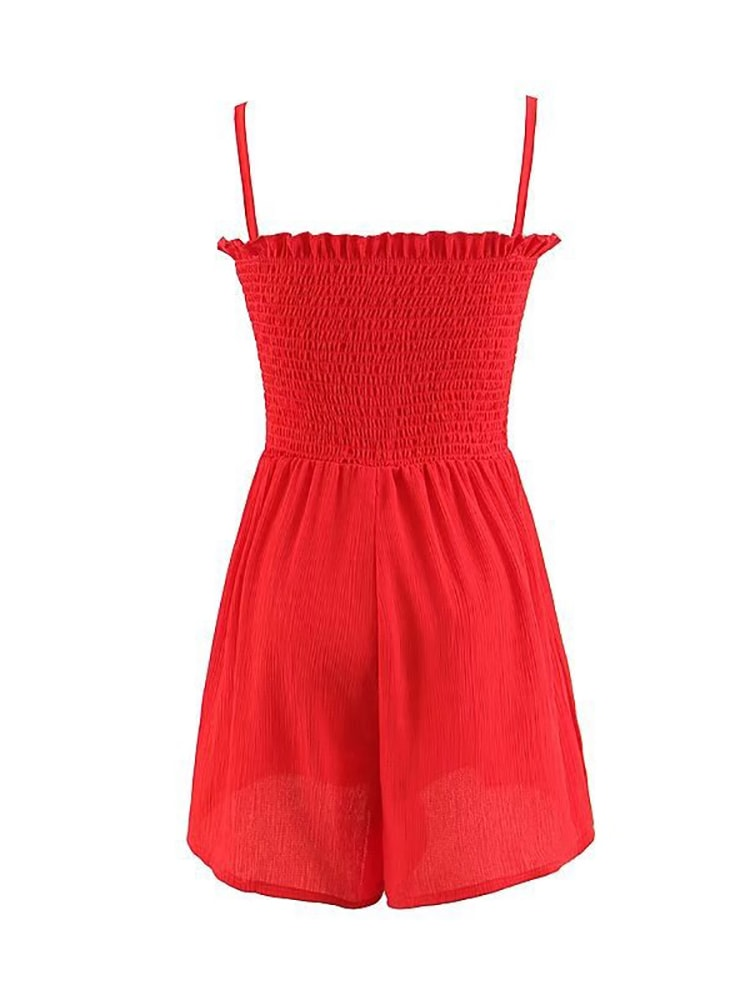 Chic Versatile Lacing Jumpsuit