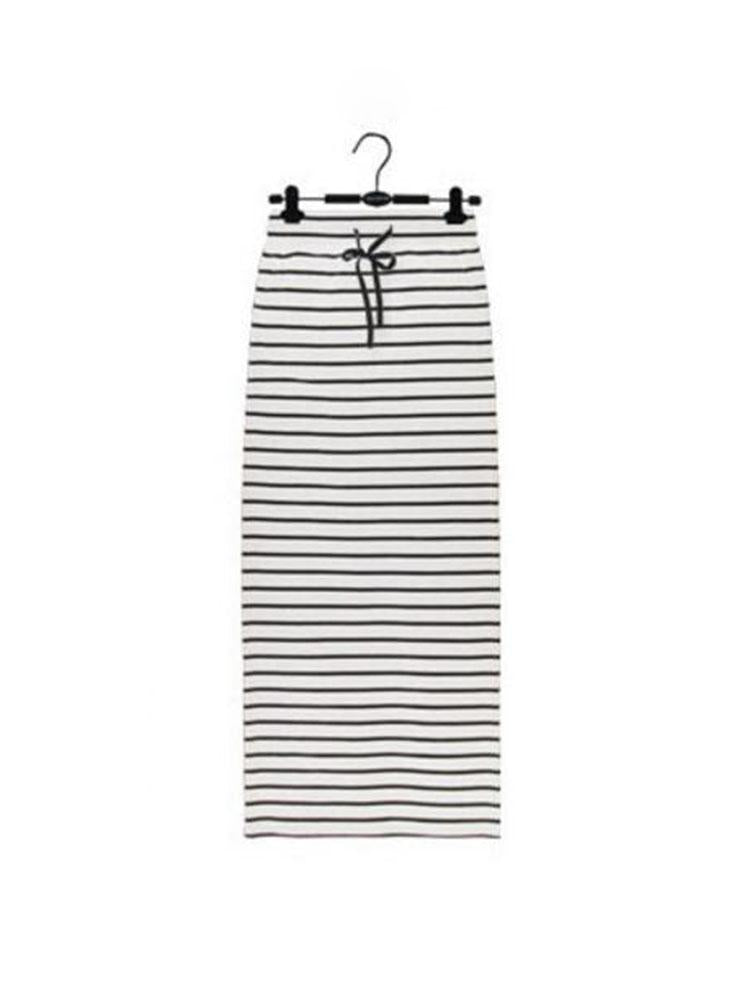 Chic Stripped Pencil Skirt