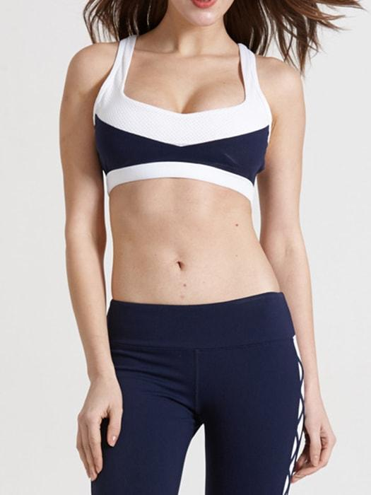 Close-cut Bodycon Fit Sports Bra