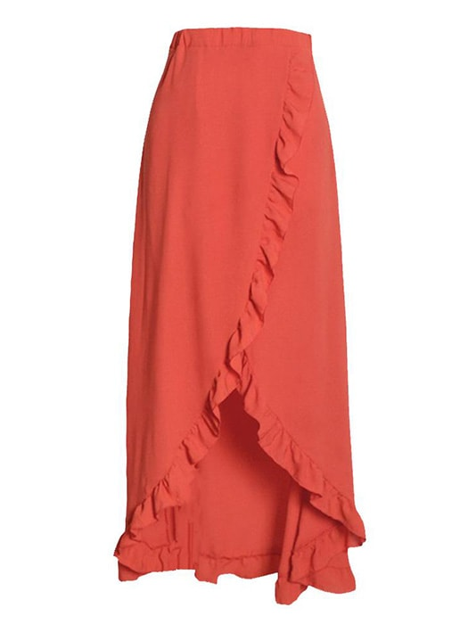 Asymmetry Hem Tie Beach Dress