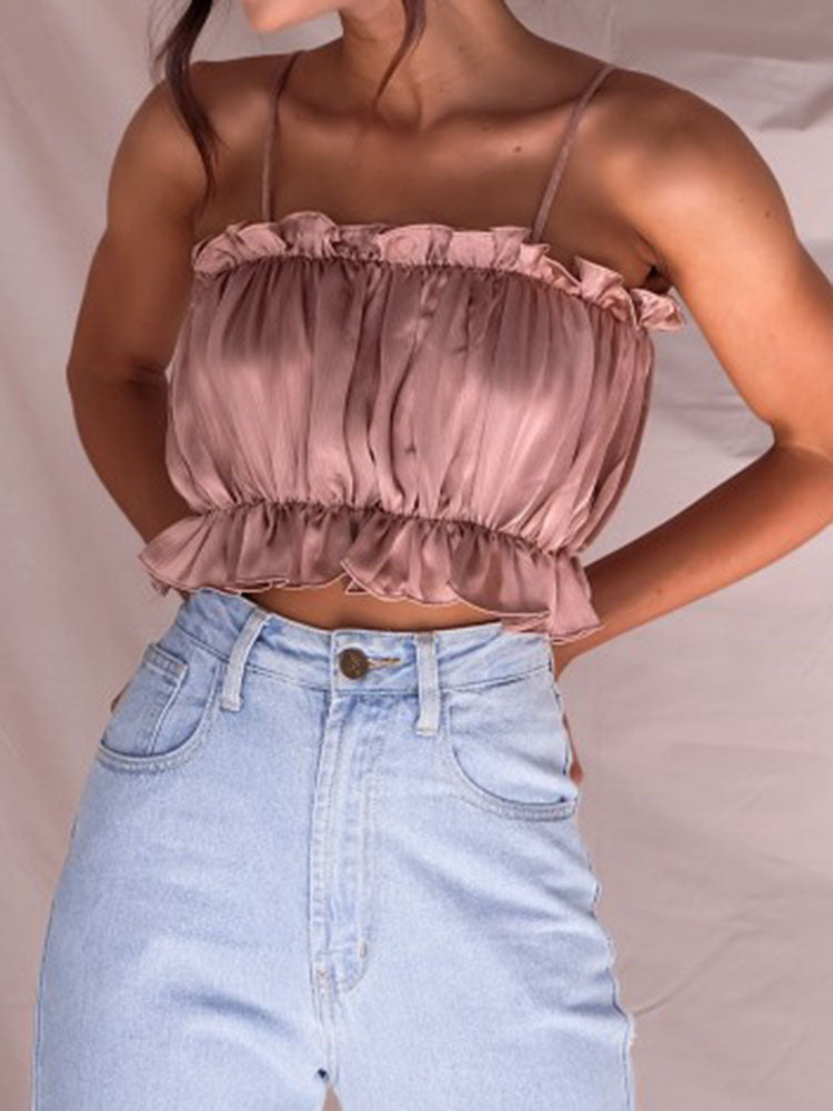 Chic Puff Cami Top