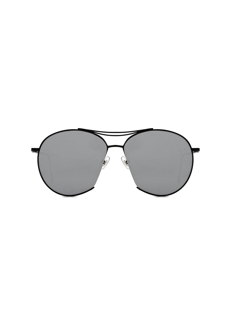 Round Sunglasses With Metal Frame