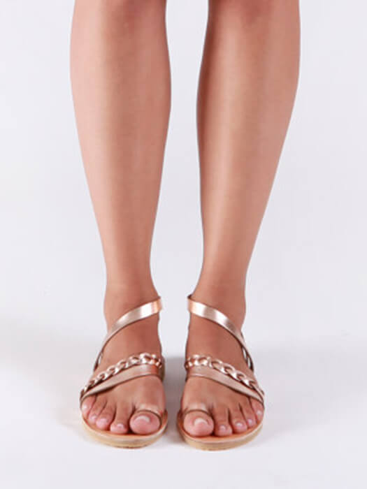 b68439c21 Toe Ring Asymmetric Strappy Flat Sandal – WhatsMode