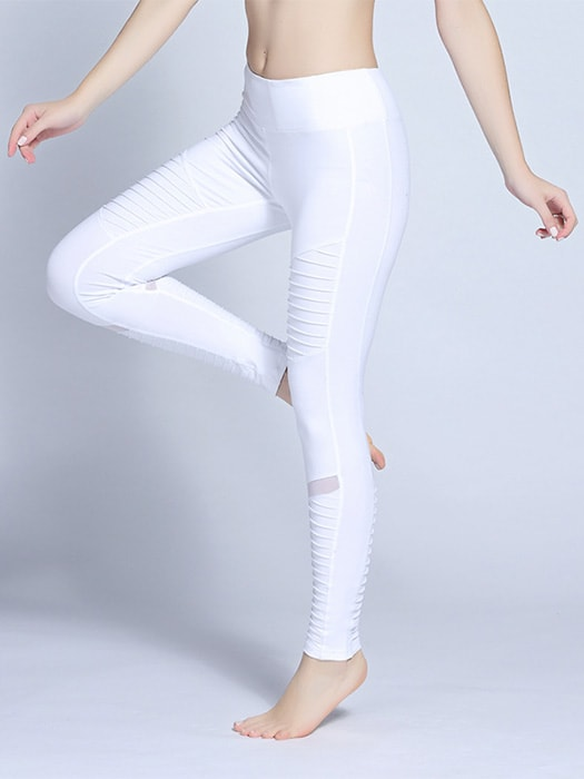 Solid Color Plated Baselayer Legging