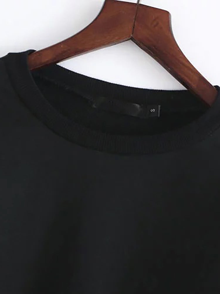 Basic Solid Crop Tee