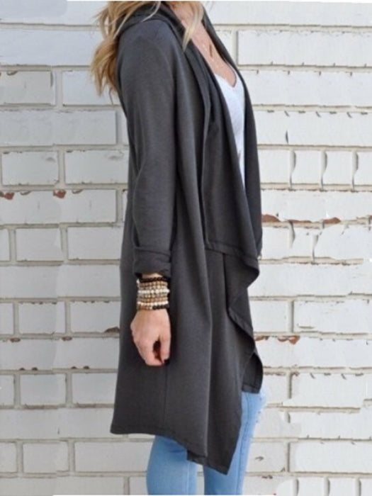 Fashion Buckle Braid Front Cardigan