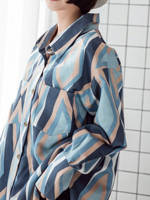 Oversize Retro Casual Shirt