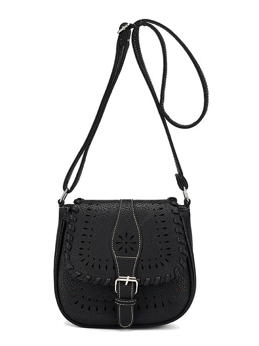 Fashion All-match Hollow Out Shoulder Bag