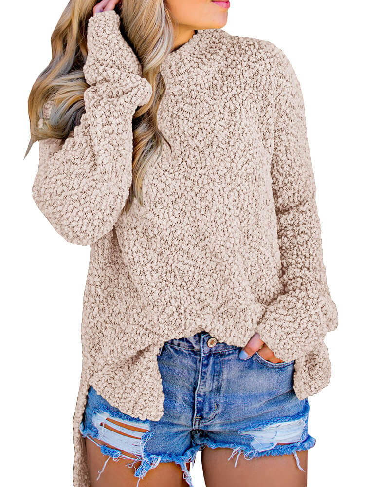 Solid Embellished Sweater