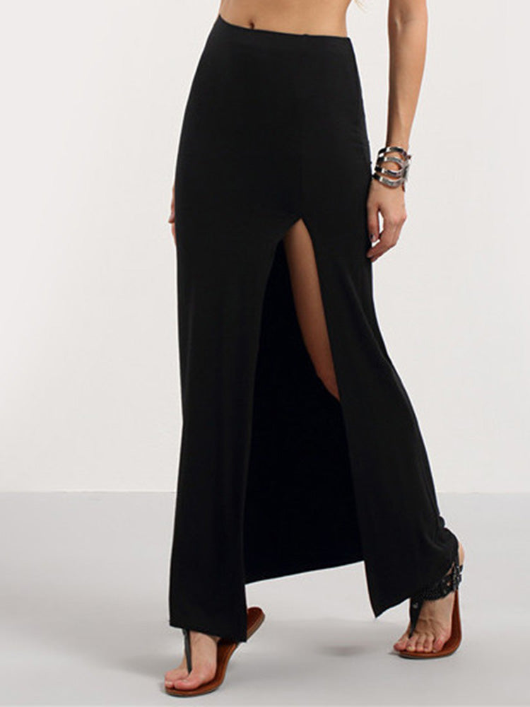 Sexy Bodycon Maxi Skirt