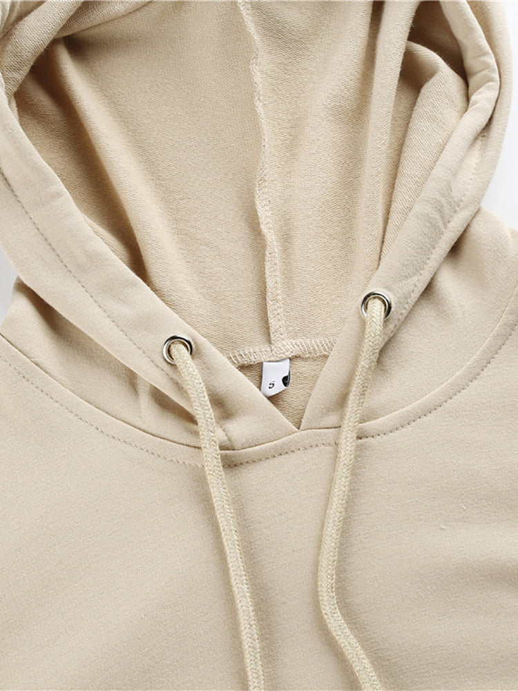 Casual Hooded Loose Sweatshirt