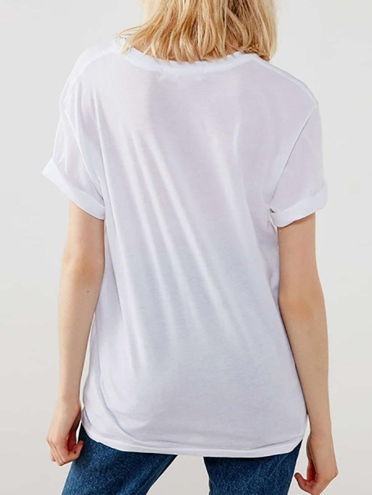Rebel Cutout Baisc Tee