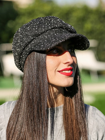 Puffy Ball Decored Baseball Cap