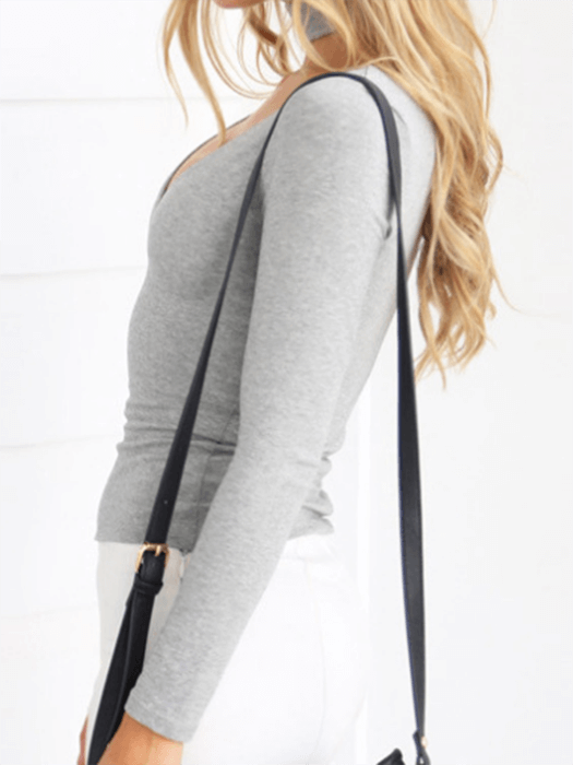 Back Zipper Tie Top