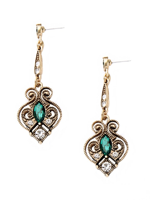 Golden Heart Earring