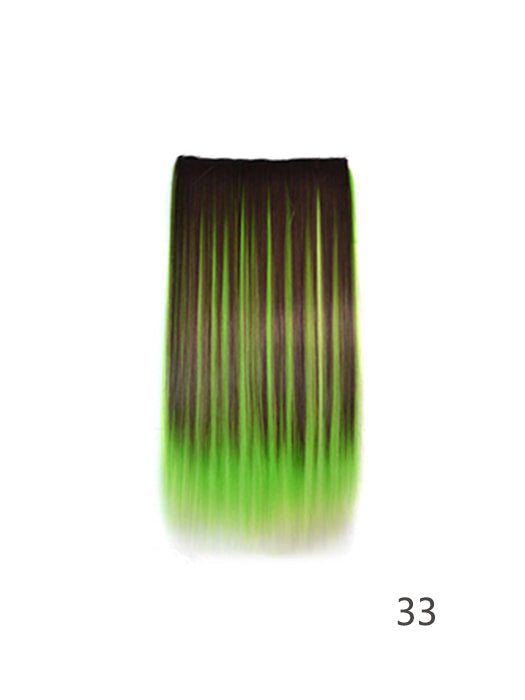 5 Clip Multi-colored Ombre Hair Extensions