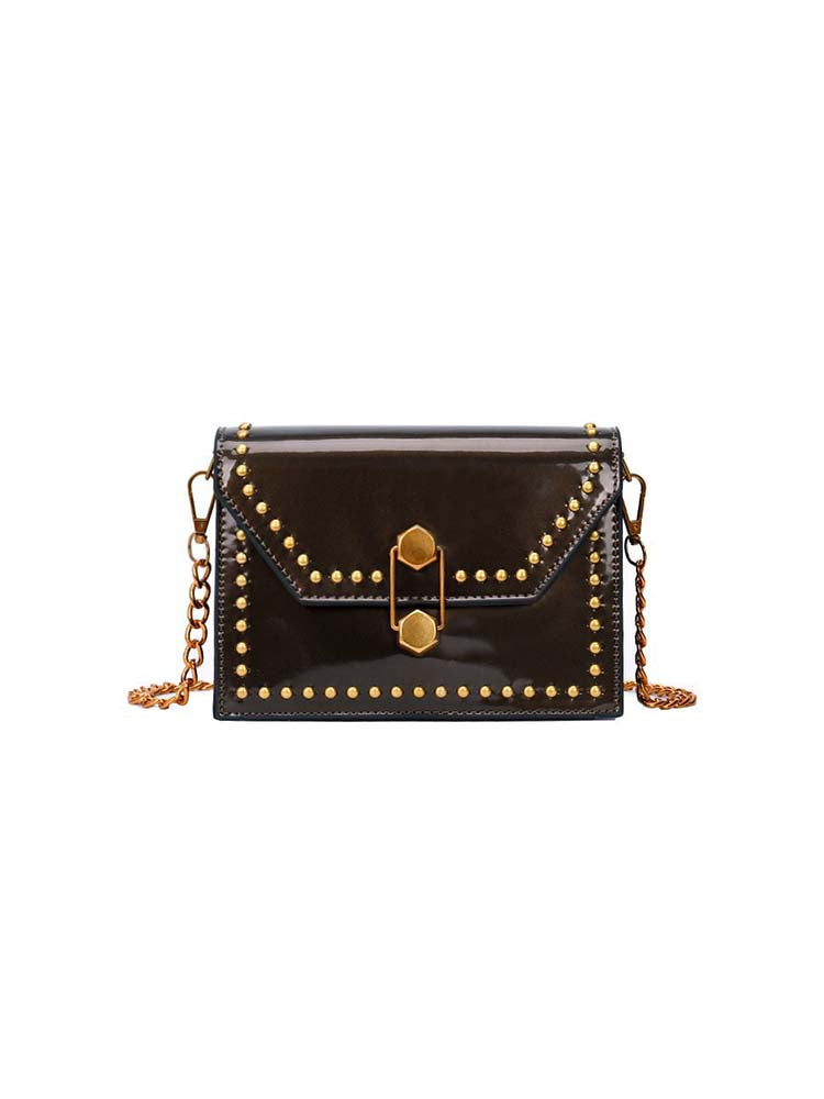 Chic Studded Cross Body Bag