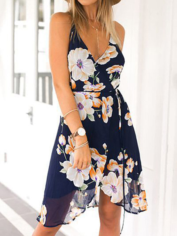 Escape Floral Mini Dress
