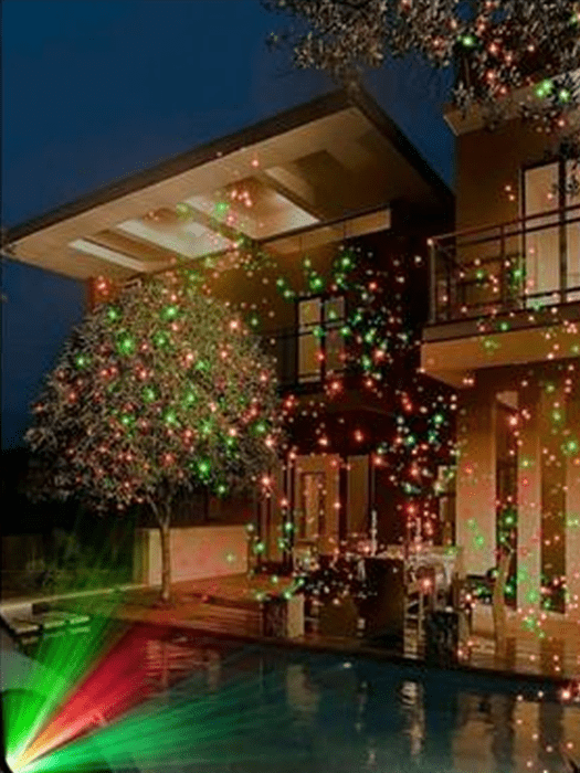 ABS Christmas Laser Light Pack