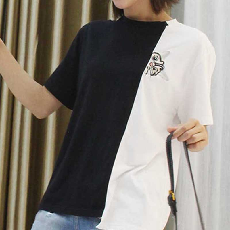 Chic Black White T-shirt
