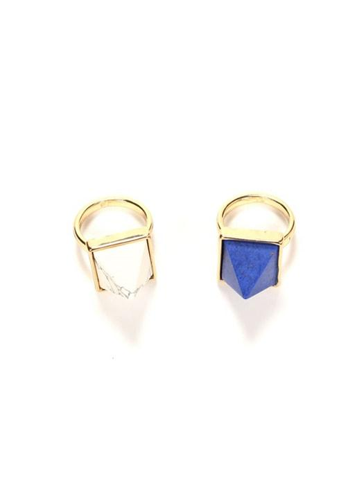 Geometric Tophus Royal Vibe Ring