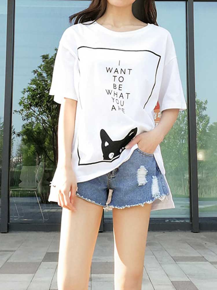 Casual Printed T-shirt