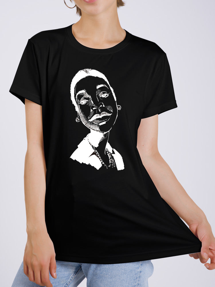 Monochrome Portrait T-shirt